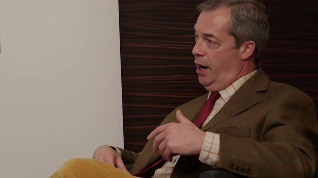 Global Refugee Crisis Pre-Debate Interview Nigel Farage