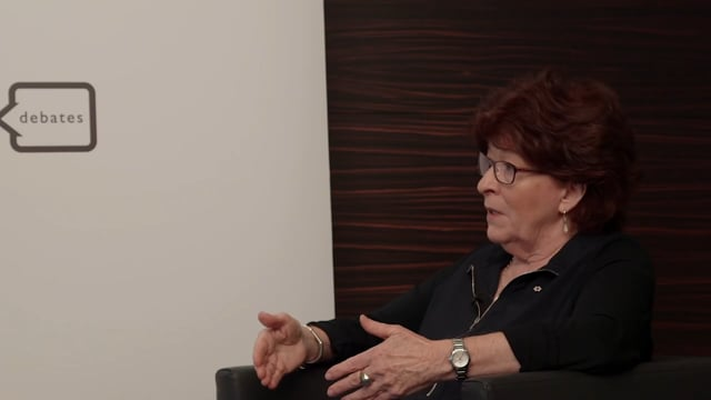 Global Refugee Crisis Pre-Debate Interview: Louise Arbour