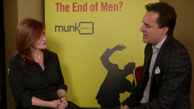 Gender in the 21st Century Pre-Debate Interview: Maureen Dowd
