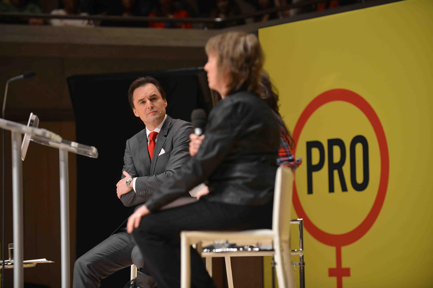 Gender in the 21st Century debate photo