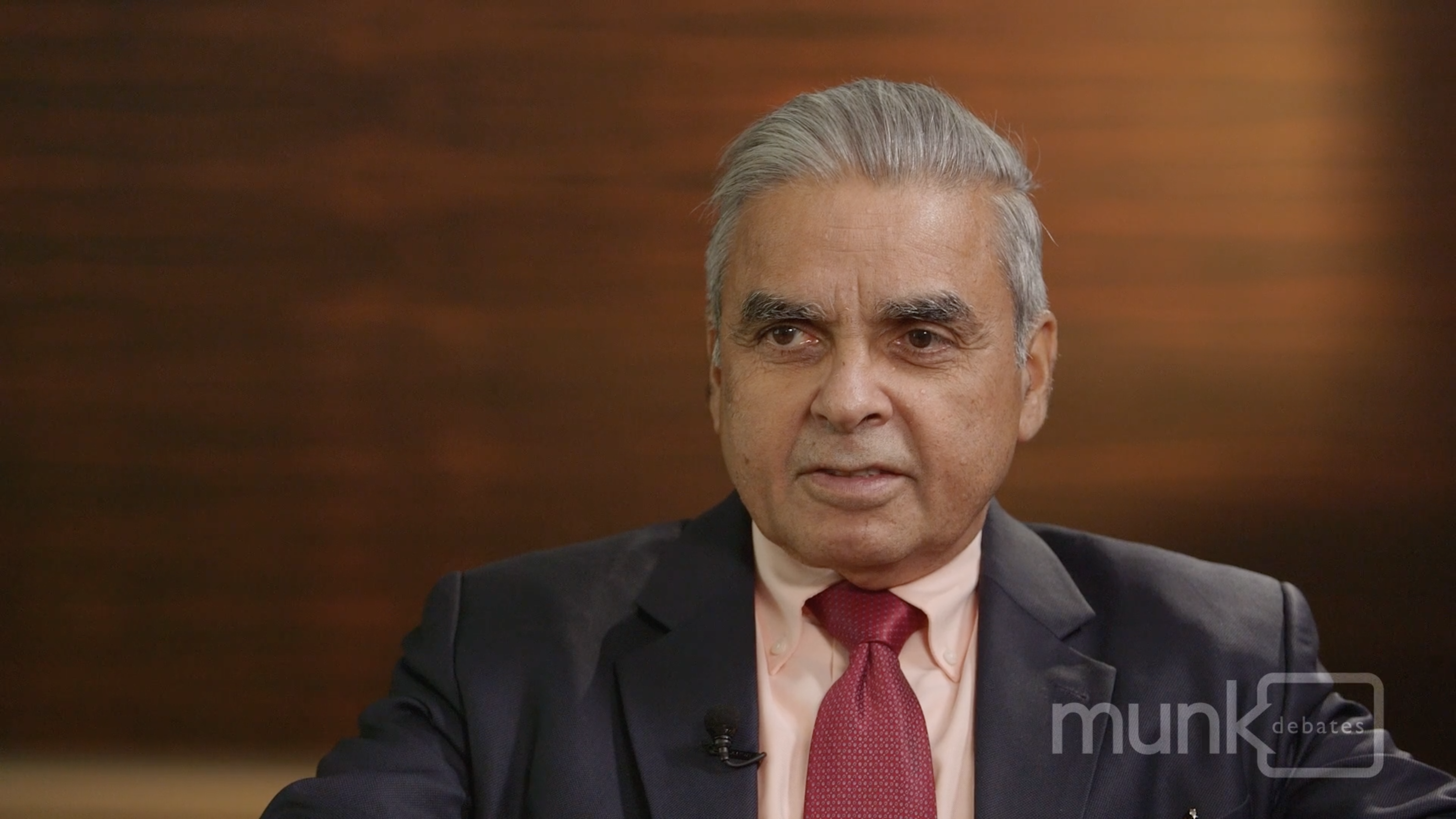 China Professor Kishore Mahbubani - Pre-debate interview